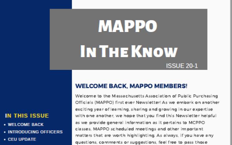 Newsletter, Issue 20-1